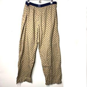 VNTG Polo Ralph Lauren men pajama lounge pants XL